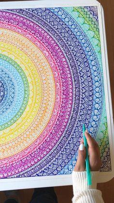 Mandala Doodle, Mandala Art Lesson, Mandala Artwork, Mandala Painting, Mandala On Canvas, Doodle Art Drawing, Mandala Drawing, Mandala Sketch, Art Drawings Beautiful