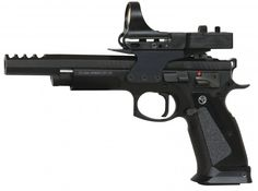 CZ USA 91174 CZ 75 TS CzechMate Pistol 9mm 5.4in 20rd 26rd Black for sale at Tombstone Tactical.