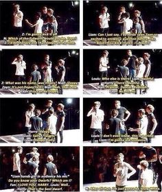 One Direction talking about which of the seven dwarfs they would be