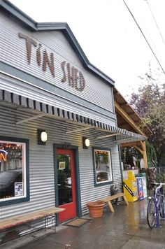 Tin Shed in Portland, OR  @yourhomebasedmom.com
