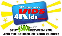 $5,000 Vids4Kids Contest for students of any age. Deadline Oct. 10