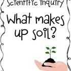 What makes up soil? FREEBIE