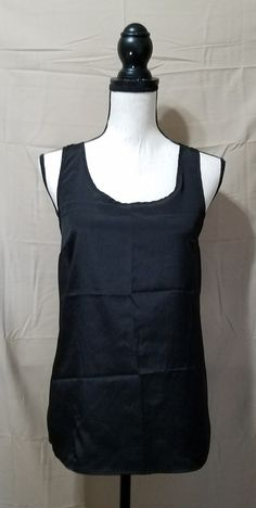 b5e82c6eb68 Mossimo Black Dressy Tank Top S Love Clothing