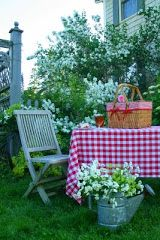 Sweet Country Life ~ Simple Pleasures ~ My country garden picnic