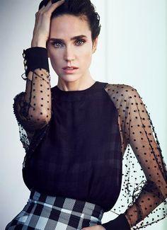 Balmain 80's modernized dress (Such beautiful eyes-Jennifer Connelly) Spring/Summer 2014 collection