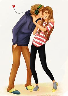 Pewdiepie And cutiepiemarzia are forever together