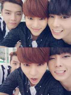JunQ, InSoo and Chaejin... This is just so cute :D :3