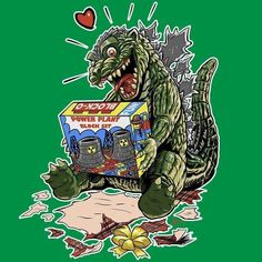 The perfect gift for Godzilla!!!