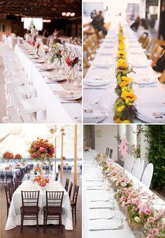 #decoración #bodas #flores #mesas