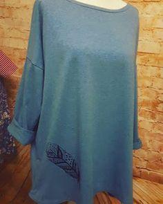und noch ein Jersey XXL Wohlfühlshirt - den ich mag die legere Art einfach zum wohlfühlen  und reinkuscheln