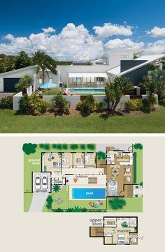 Designing for a long floor plan #architecture #floorplan