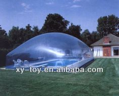 Inflatable pool covers,inflatable swim pool covers,bubble winter inflatable pool covers $1000~$2000