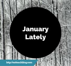 Each month, I host a #Blogger #LinkUp. Here's what is going on as of late! #EatTeachBlog