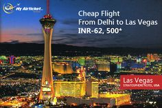 Flight from India to Los-Vegas.. #travel #flights #airfare #airline #Dallas #India #airtickets #Newyork#international #Delhi#myairticket #Cheapest#USA http://myairticket.com/myairticket/USA.php