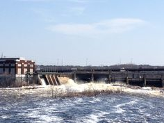 Chippewa River Dam, spring 2013