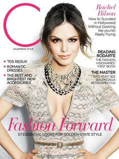 Rachel Bilson looking stunning on our March 2011 cover
