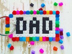 Top 10 super leuke strijkkralen patronen. Sleutelhanger voor vaderdag. BMelloW,nl