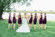 Rustic bridesmaids. Image by Nicole Corrine