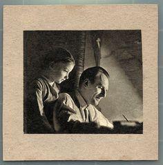 Zbigniew Lengren z córką Katarzyną