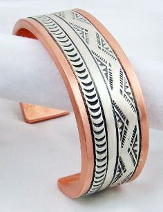 Sacred Moutain Water Bracelet by Navajo artists, Randy Secatero and Sylvana Apache.  $105.
