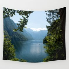 Germany, Malerblick, Koenigssee Lake Wall Tapestry FREE Worldwide Shipping and $5 Off Everything only with my Promocode https://society6.com/originalaufnahme?promo=39T4RNCWF9BK