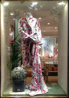 Sweet Pea robe at Porthault~ Geoff Howell Studio Inc.