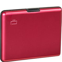 Ogon RFID Aluminum Large Smooth Wallet - Red - via eBags.com!