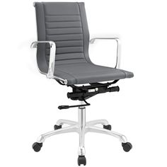 Modern Runway Mid Back Office Chair