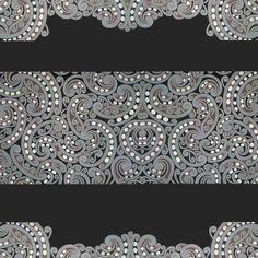 Maori pattern design - koru (silver fern)