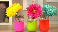 Make a Neon Mason Jar