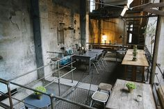 This place is probably the most unusual one of the whole list of German-style restaurants. It's run by famous chef Tim Raue and is embedded into the old Bötzow Brewery at Prenzlauer Allee (once home to the Deep Club and the Appartement with their unforgettable Dinner for Friends).