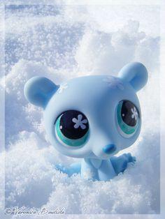 Blue Polar Bear by ~Dynamene-Dolls on deviantART