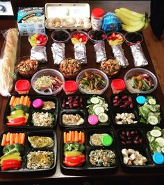 Meal planning and healthy living.