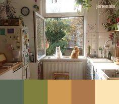 Cottagecore Aesthetic Color Scheme