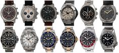 Today's update features Swiss watches from seven respected brands:  Rolex, Glashutte, IWC, Panerai, Breitling, Tudor, and Omega.  Swing by out website for more photographs and info on our collection. Iwc, Breitling, Popular Watches, Mechanical Watch, Whats New, Tudor, Omega, Rolex, Bracelet Watch