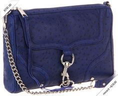 Rebecca Minkoff Mac Bombe Royal H400F24C Clutch,Royal,One Size