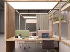 Multiple office workstation for open space – OFFICE By design Nicholas Bewick – Office Design 2020 Open Office Design, Open Space Office, Industrial Office Design, Small Office, Office Designs, Workspace Design, Office Workspace, Office Cube, Corporate Interior Design