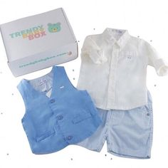 JULY'S BABY BOYS OUTFIT ⠀ ⠀ Here's everything you will have received this month for your baby boy!! We hope you are enjoying the look... don't for get to tag us #trendybabybox for your chance to win a free box! ⠀ ⠀