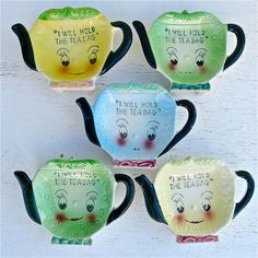 Vintage Tea Bag Holders - my grandma had a couple of these!