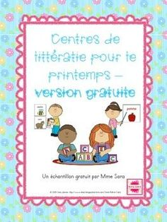 by Mme Sara's French Boutique French Teaching Resources, Teaching French, Teaching Tools, Literacy Stations, Literacy Centers, French Education, Core French, Free In French