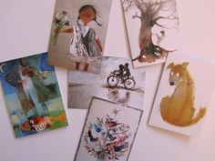 GREETING CARDS pack of 6