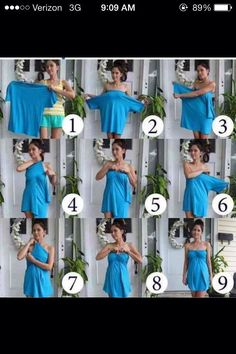 have an old baggy shirt, you can't part with? Here's a 9-step on how to make it into a dress :) #Fashion #Beauty #Trusper #Tip