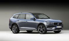 The New Volvo XC90 according to a UK website