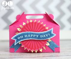 Cricut Artiste Birthday Box