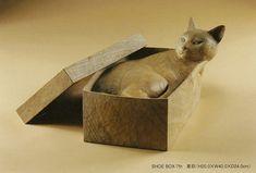 Kouichiro Shimada・ a wood sculpture /島田紘一呂 木彫