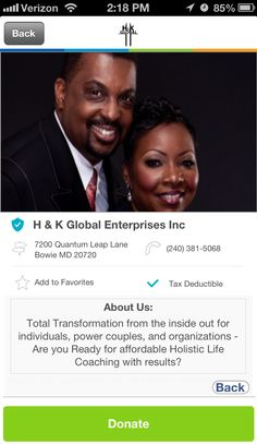 H & K Global Ministries Inc in Bowie, Maryland #GivelifyNonprofits