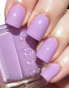 """Essie - """"Under Where?"""" - is a light pink toned purple. It is a bit like """"Splash of Gernadine"""" but this shade has a little more lavender in it."""
