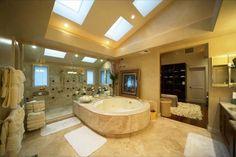 outstanding bathroom interiors in Hawai's Villa