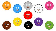 Colors Chant | Learn Colors | Colors Song for Children   These Cute Color Characters will make your Baby Laugh and Smile while Teaching the Names of the Most Common Colors Red, Yellow, Orange, Green, Blue, Purple, Pink, Brown, Grey, Black and White