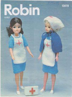 Barbie Nurse pattern